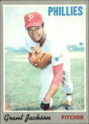 1970 Topps #6 Grant Jackson Excellent +