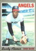 1970 Topps #29 Sandy Alomar Sr. Excellent +