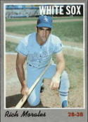 1970 Topps #91 Rich Morales Excellent +
