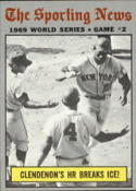 1970 Topps #306 World Series Game 2 Clendenon's HR Breaks Ice! Excellent +