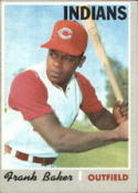 1970 Topps #704 Frank Baker Off Center RC Rookie