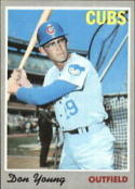 1970 Topps #117 Don Young Nr. Mint