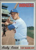 1970 Topps #535 Andy Kosco Nr. Mint