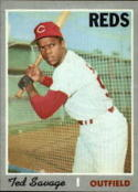1970 Topps #602 Ted Savage Nr. Mint