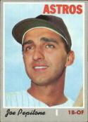 1970 Topps #598 Joe Pepitone Nr. Mint
