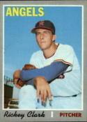 1970 Topps #586 Rickey Clark Nr. Mint RC Rookie