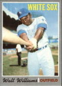 1970 Topps #395 Walt Williams Nr. Mint