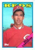 1988 Topps #42 Bill Landrum RC Rookie Reds