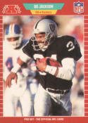 1989 Pro Set #185 Bo Jackson NM-MT LA Raiders