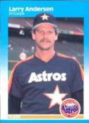 1987 Fleer #49 Larry Andersen NM-MT Astros