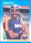 1987 Fleer #51 Kevin Bass NM-MT Astros
