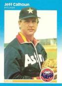 1987 Fleer #52 Jeff Calhoun NM-MT Astros