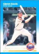 1987 Fleer #55 Glenn Davis NM-MT Astros