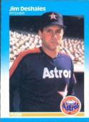 1987 Fleer #56 Jim Deshaies NM-MT Rookie Card Astros