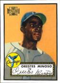Minnie Minoso 2001 Topps Archives Baseball Card #233 (1952 Topps Card)