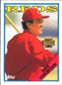 David Concepcion 2001 Topps Archives Baseball Card #176   (1988 Topps)
