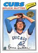 Bruce Sutter 2001 Topps Archives Baseball Card #79   (1977 Topps)