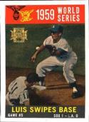 Maury Wills/Luis Aparicio 2001 Topps Archives Baseball Card #258