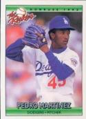 Pedro Martinez 1992 Donruss Rookies Baseball Card #69 (Dodgers)