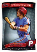 Mike Schmidt 2010 Topps Peak Performance Baseball Card PP-60 (Phillies)