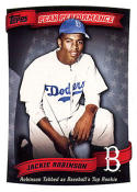 Jackie Robinson 2010 Topps Peak Performance Baseball Card PP-45  (Dodgers)