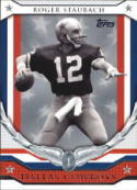 Roger Staubach 2008 Topps Chrome Honor Roll Football Card HR-RS  (Cowboys)