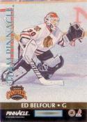 1992-93 Pinnacle Team Pinnacle #1 Ed Belfour / Mike Richter