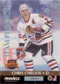 1992-93 Pinnacle Team Pinnacle #2 Ray Bourque / Chris Chelios