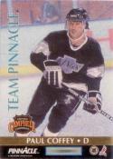 1992-93 Pinnacle Team Pinnacle #3 Paul Coffey / Brian Leetch
