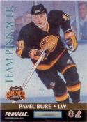 1992-93 Pinnacle Team Pinnacle #4 Kevin Stevens / Pavel Bure