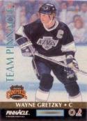 1992-93 Pinnacle Team Pinnacle #5 Wayne Gretzky / Eric Lindros
