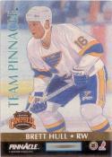 1992-93 Pinnacle Team Pinnacle #6 Jaromir Jagr / Brett Hull