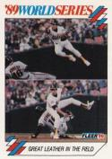 1990 Fleer World Series #6 Walt Weiss Athletics