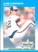 Steve Carlton 1987 Fleer (4,000 Strikeouts) Baseball Card #635