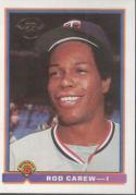 Rod Carew 1991 Bowman Baseball Card #1 (Minnesota Twins)