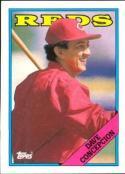1988 Topps #422 Dave Concepcion Reds