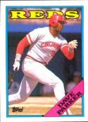 1988 Topps #315 Dave Parker Reds