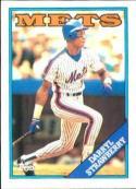 1988 Topps #710 Darryl Strawberry Baseball Card