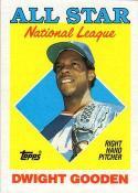 1988 Topps #405 Dwight Gooden Mets AS