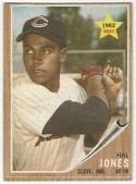 1962 Topps #49 Hal Jones P - Poor or Better