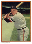 Harmon Killebrew 1985 Topps Glossy Home Run Kings Baseball Card #5