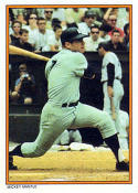 Mickey Mantle 1985 Topps Glossy Home Run Kings Baseball Card #6