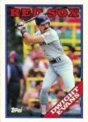 1988 Topps #470 Dwight Evans Red Sox