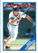 1988 Topps #43 Dick Schofield Angels