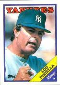 1988 Topps #44 Lou Piniella Yankees MG