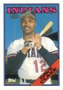 1988 Topps #49 Dave Clark Indians