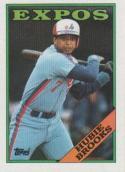 1988 Topps #50 Hubie Brooks Expos