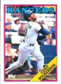 1988 Topps #53 Curtis Wilkerson Rangers