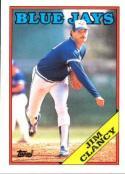 1988 Topps #54 Jim Clancy Blue Jays