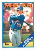 1988 Topps #58 Dave Magadan Mets